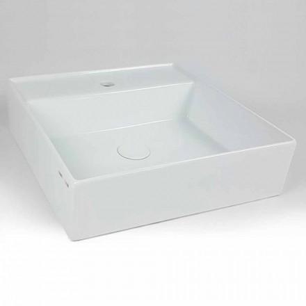 Moderne firkantet keramisk bordplade lavet i Italien - Piacione