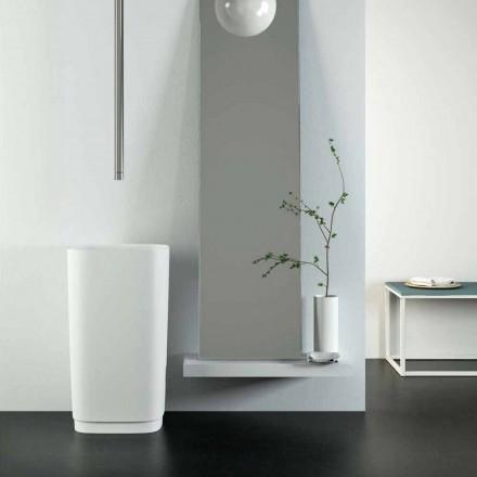 Design fritstående cirkulær gulvvask lavet i Italien, Lallio