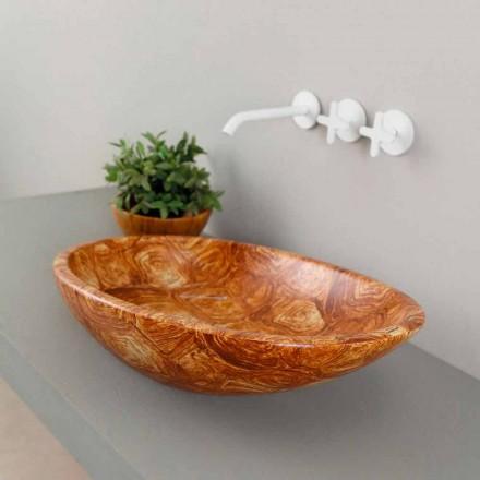 Design keramisk bordtæppe lavet i Italien Glossy