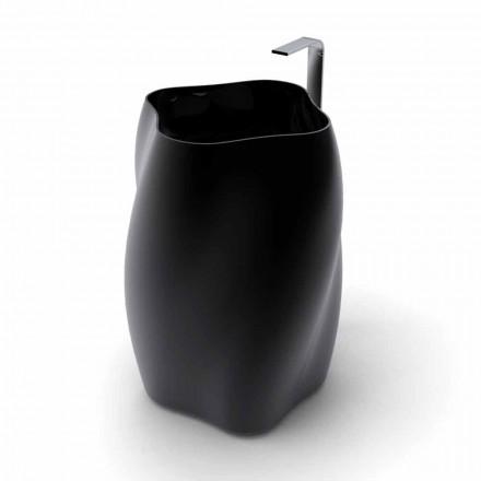 Moderne design fritstående håndvask Blomst lavet i Italien