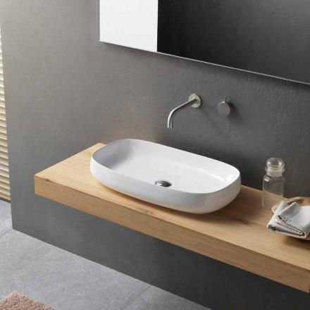 Moderne håndvask til bordplade fremstillet i Italien - Tune1