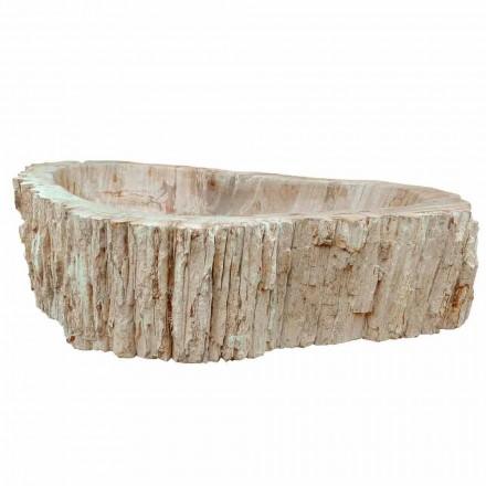Wood Fossil vask køkkenbordet Goa enkelt stykke