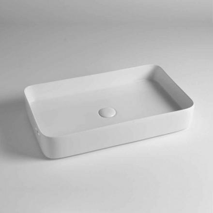Rektangulær bordplade i farvet keramik fremstillet i Italien - Dable