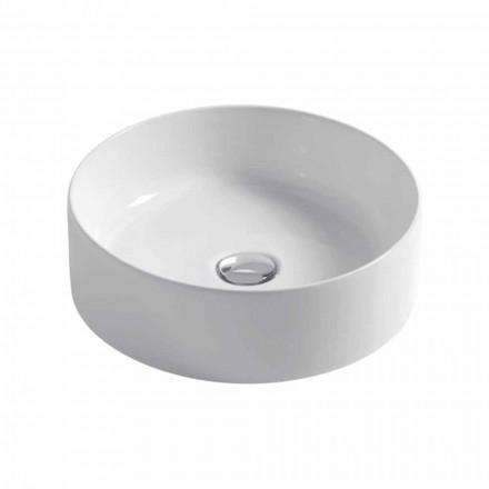 Kuglevaske i hvid eller farvet keramisk Ø40cm Leivi
