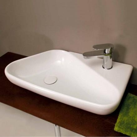 Countertop håndvask / design keramik lavet i Italien Sheyla
