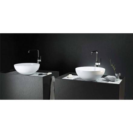 Cirkulær vaskeplade i moderne design lavet 100% i Italien, Donnas