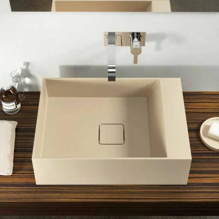 Håndvaske i moderne design, produceret 100% i Italien, Lavis