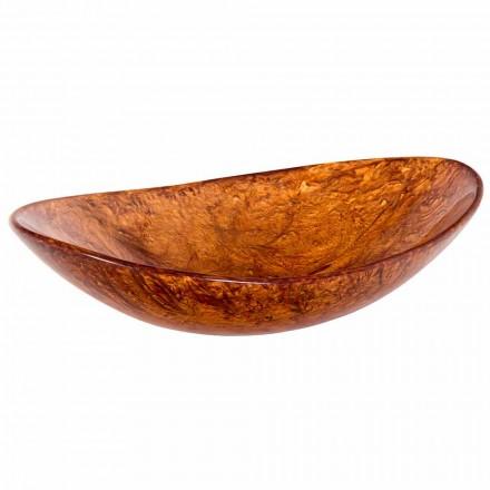 Håndlavet bordvask lavet af harpiks - Marentino