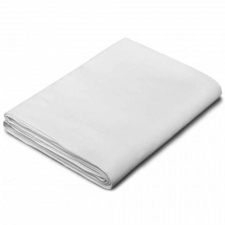 King Size, enkelt og fuld størrelse ark i hvid linned lavet i Italien - velsignet