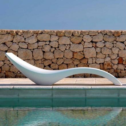 Moderne design chaiselong i farvet polyethylen - Cloe af Myyour