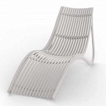 Udendørs chaiselong i hvid eller Ecru-design, 4 stykker - Ibiza fra Vondom