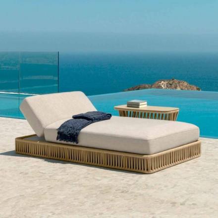 Cliff moderne hvilende lounger af Talenti, design af Palomba