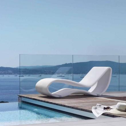 Hvid design haven sidebord Breez 2.0 af Talenti
