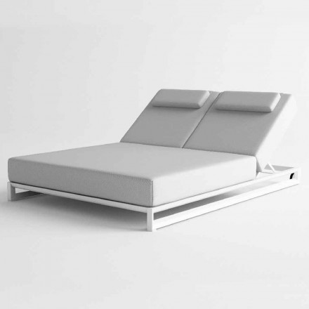 Udendørs liggestol i aluminium og stof - Gioacchino