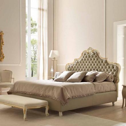 Dobbeltseng med sengebeholder, klassisk design, Chantal ved Bolzan