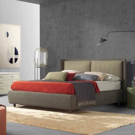 Dobbeltseng med sengebeholder, moderne design, Kate by Bolzan