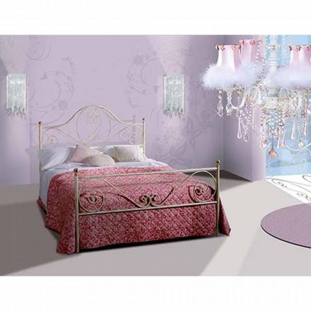 En seng og en halv Square Smedejern Gea