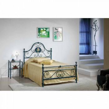 Bed queen size smedejern knust Gloria Design