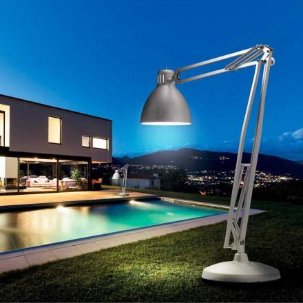 Leucos The Great JJ udendørs gulvlampe i aluminium design