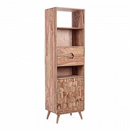 Gulvreol med træstruktur Vintage Homemotion - Ventador