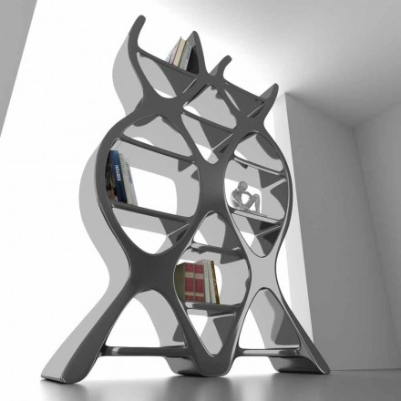 Moderne design gulv bogreol i Solid Surface DNA