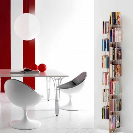Moderne bibliotek fra jorden fastsat til tante Veronica Wall