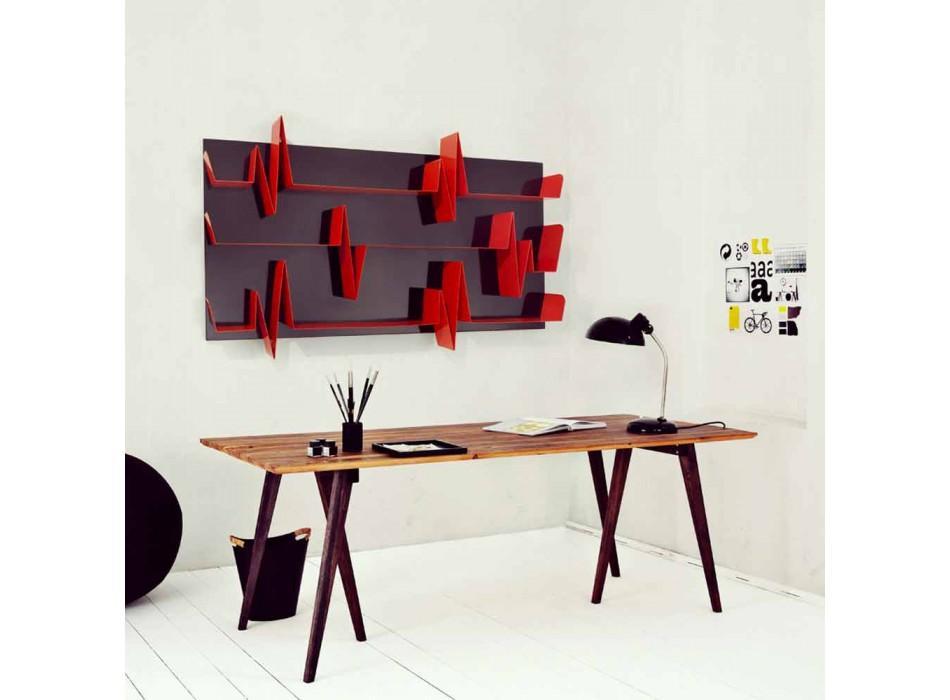 Bibliotek Design Battikuore 186x101 (3 hylder) Mabele