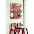 Bibliotek Battikuore design 90x127 (3 hylder) Mabele