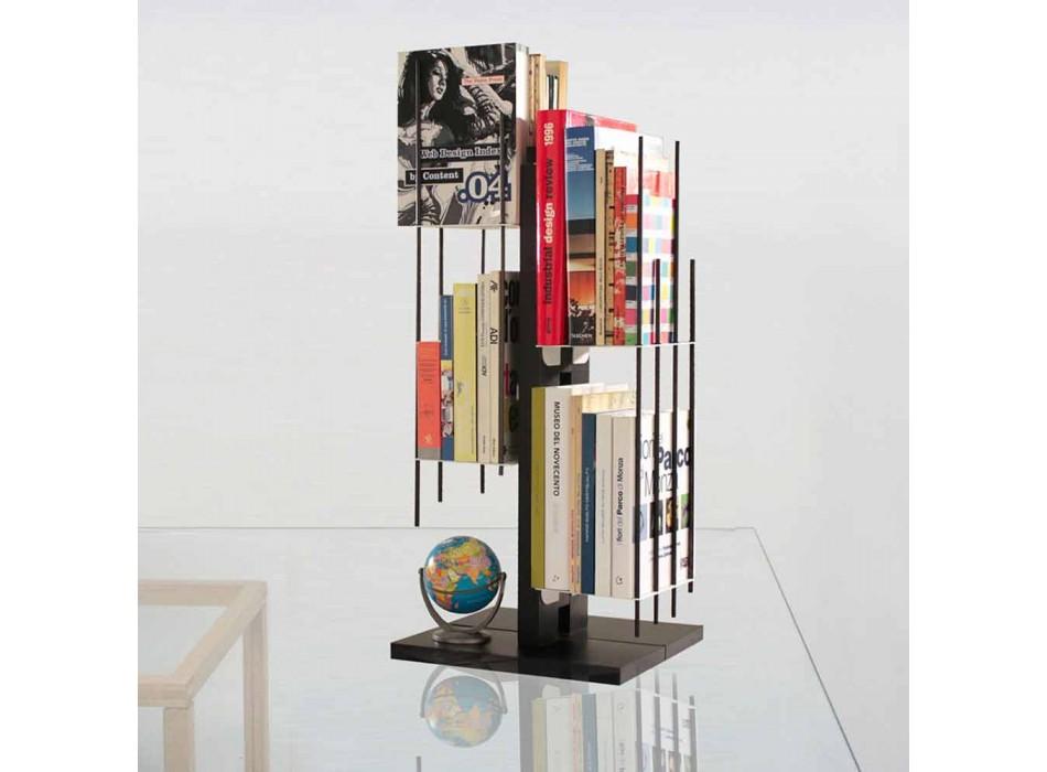 Moderne design kolonne bogreol Zia Veronica i massiv bøg