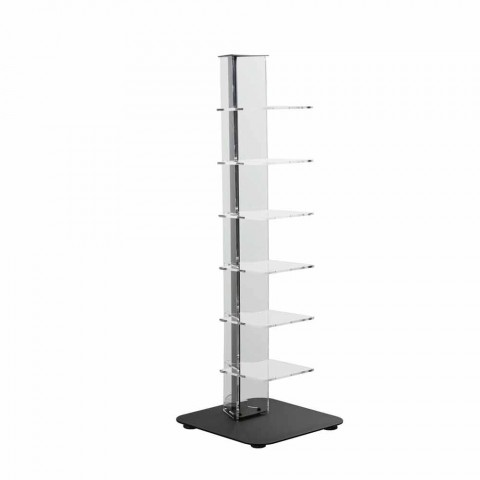 Bibliotek moderne design methacrylat, L35xP35xH100 cm, Jesse