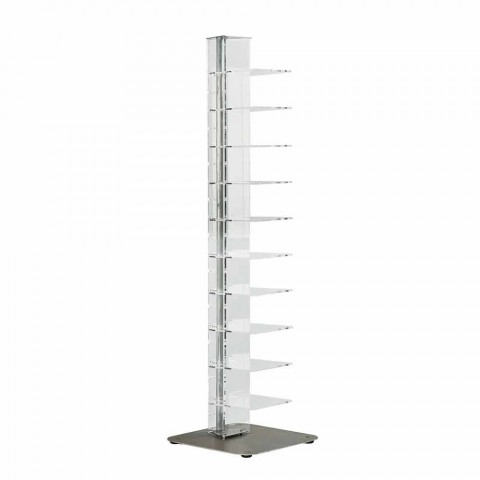 Bibliotek moderne design methacrylat, L35xP35xH154 cm, Luca
