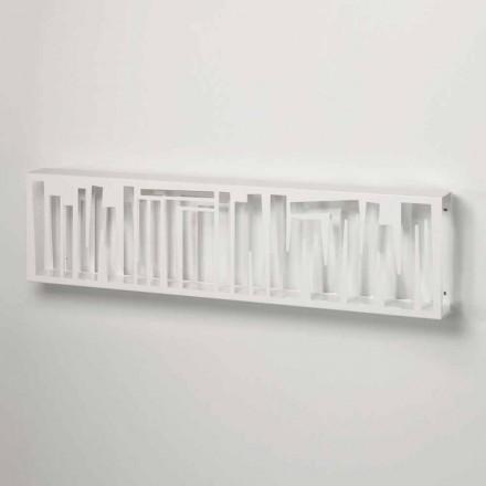 Vægreol i moderne design i hvidt metal fremstillet i Italien - Bolivia