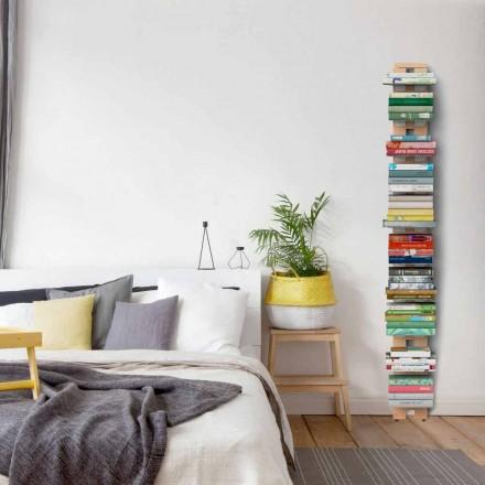 Moderne bibliotek fra jorden fastgjort til væggen tante Hortense
