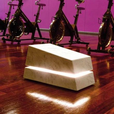 komplet lysende marmor af lyd diffusor Minimal Sound
