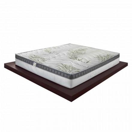 En og en halv madras i hukommelse i høj kvalitet 25cm lavet i Italien - idé