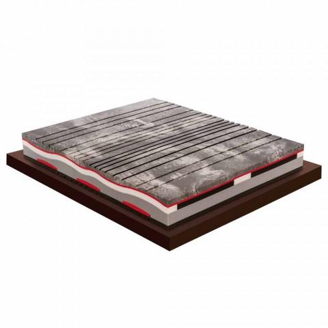 Hukommelse Xform dobbeltmadras 25 cm høj Lavet i Italien - Trækul