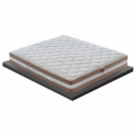 En og en halv madras i hukommelse Xform 25 cm høj Lavet i Italien - Trækul