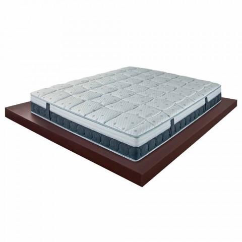 En og en halv madras i hukommelse og carbonresistex fremstillet i Italien - Villa