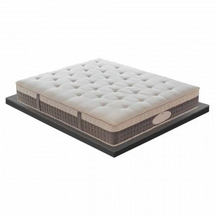 En og en halv madras i hukommelse i høj kvalitet H 25 cm - Silvestro