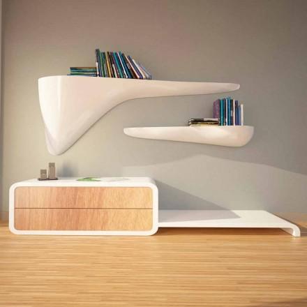 Moderne designhylde produceret i Italien, Sizzano