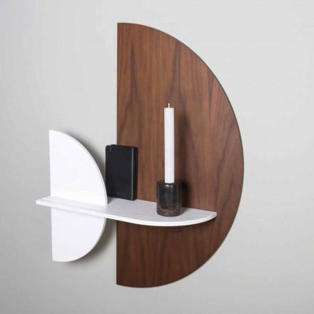 Modulær hylde Elegant og moderne design i malet krydsfiner - hukommelsestab
