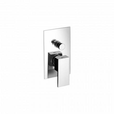 Indbygget brusebad eller badekar mixer Modern Design Made in Italy - Panela