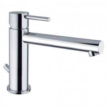 Messing håndvaskarmatur med tud 170 mm centerafstand Fremstillet i Italien - Ermia