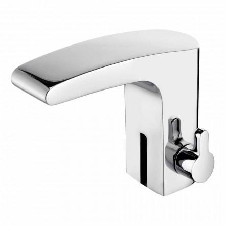 Håndvaskarmatur med infrarød sensor i krom messing, luksus - Gonzo