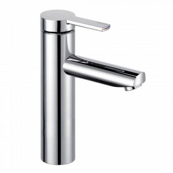 Moderne design 1-grebs mixer til håndvask i metal - Zanio