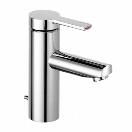 1-grebs håndvaskarmatur i messing, dyrebart design - Zanio