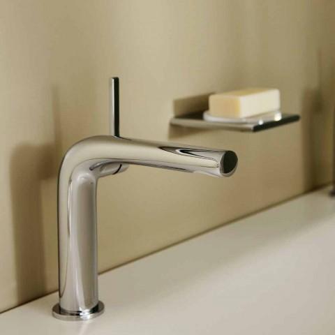 Moderne 1-grebs mixer til håndvask uden metalafløb - Pinto
