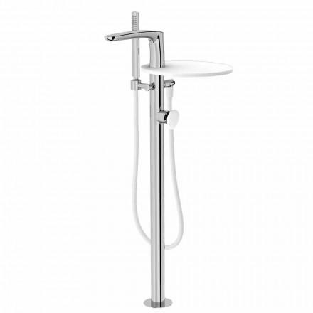Moderne gulvbelægningsarmatur til badeværelset fremstillet i Italien - Palimio