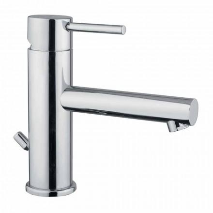 Moderne Krom Messing Badeværelsesvaskarmatur Lavet i Italien - Ermia