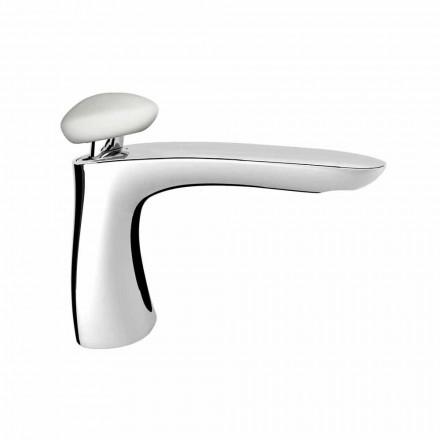 Moderne messingarmatur til badeværelsesvaske fremstillet i Italien - Besugo